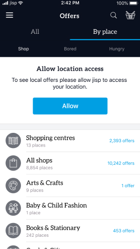 jisp — e-commerce app