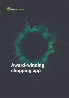 Award-winning shopping app