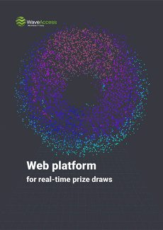Web platform for real-time prize draws