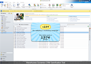 Microsoft CRM Gamification
